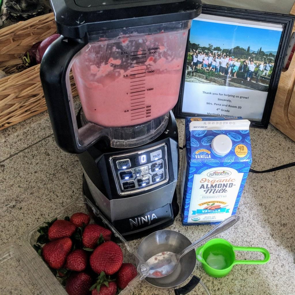 how to make Strawberry Nice-cream recipe