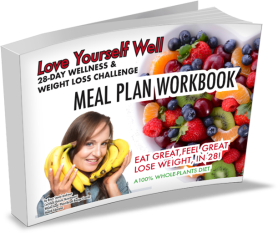 Get your free copy of Love Yourself Well: 28-Day Wellness & Weight Loss Challenge Meal Plan Workbook.
