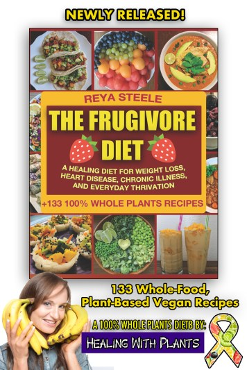 The Frugivore Diet is my new recipe book with 133 whole-food, plant-based vegan recipes that are easy, affordable, delicious, and nutritious.