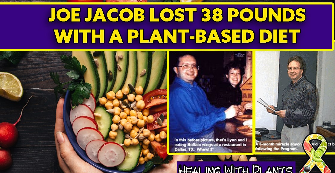 Joe Jacobs Lost 38 Pounds with a Plant-Based Diet