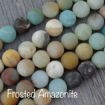 Frosted Amazonite: Balance, Calm, Truth, Empowerment, Boundaries