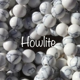 Howlite: Spiritual Beginning, Peace, Calm, Nurture, Change