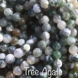 Tree Agate: Abundance, Good luck, Calm, Centred, Tranquil
