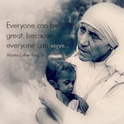 Great. serve. Martin Luther King Jr...