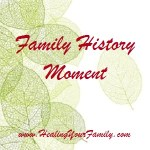 Family History Moment ref to HYF