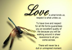 Love and reverence