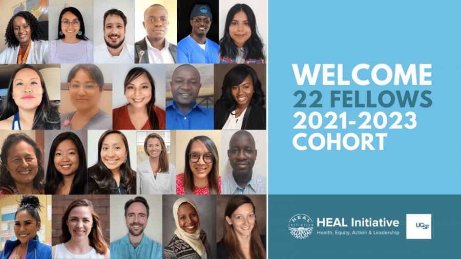 Meet the 2021–2023 HEAL Fellows