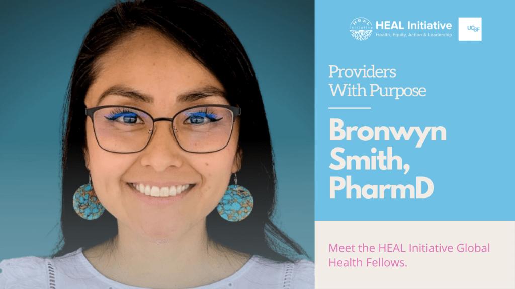 Providers With Purpose: Bronwyn Smith, PharmD