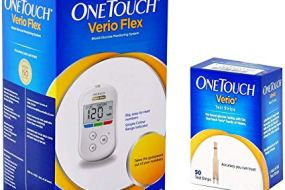 One Touch Verio Flex Glucometer & Strips Combo