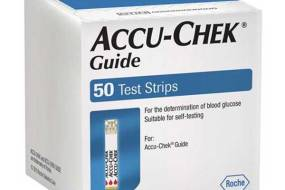 Accu Chek Guide Meter and Strips Combo