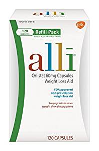 Alli weight loss products