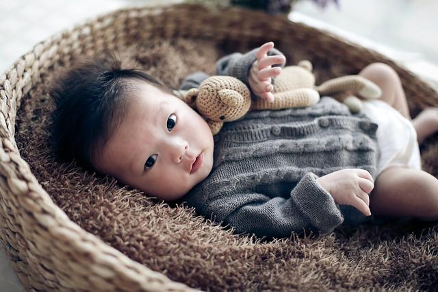 赤ちゃん、可愛い