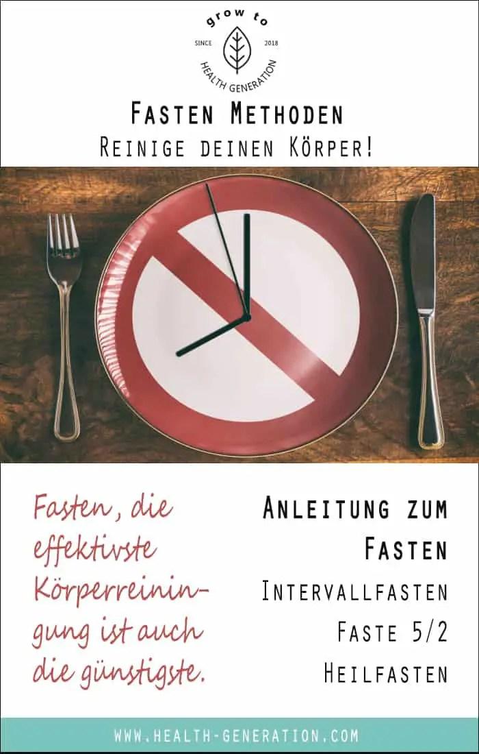 Fasten Anleitung Intervallfasten 16/8