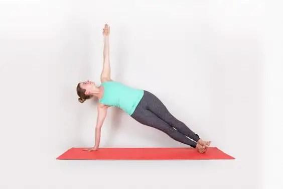 6. Plank seitlich