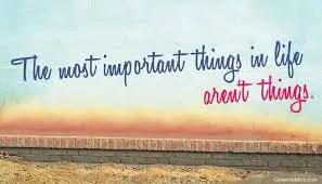 Was ist wichtig im Leben