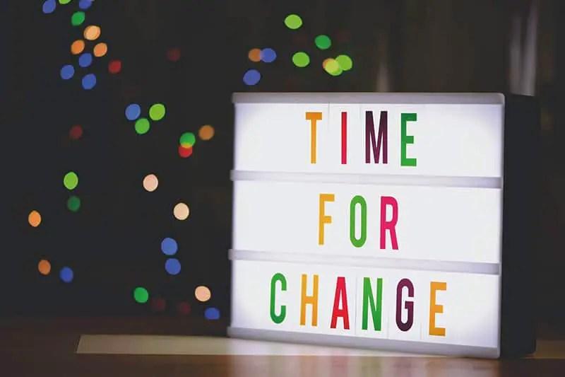 Ändere was du ändern kannst