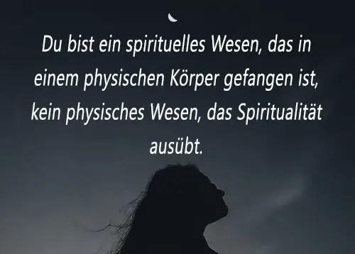 Spiritualität Spruch Bedeutung Beschreibung