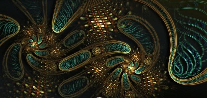 Mitochondria - Digital Art / Fractal Art / Raw Fractals ©2012-2015 muzucya.