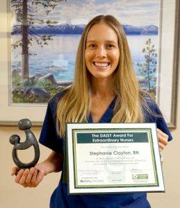 Barton Labor, obstetric nurse recognized for exceptional care