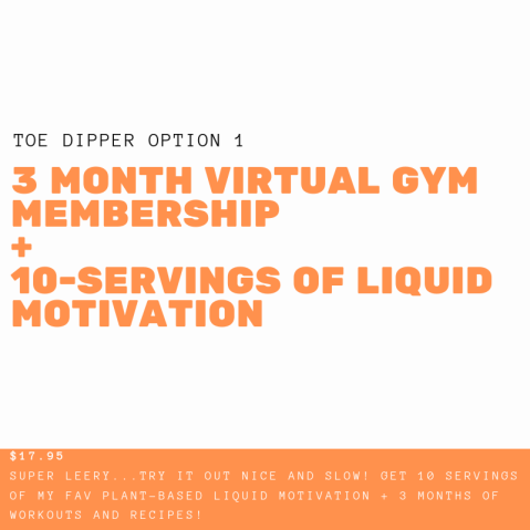 1 Year Virtual gym membership + 1-month wellness formula + simple Nutrition(2)