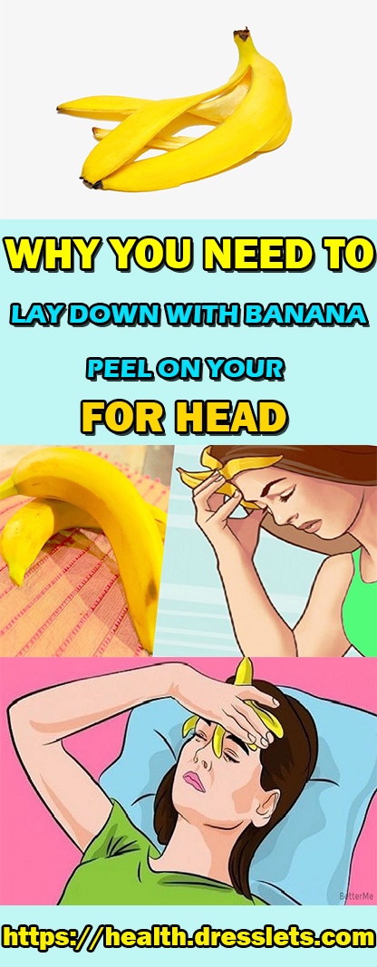 WHY YOU NEED TO LAY DOWN WITH BANANA PEEL ON YOUR FOR HEAD