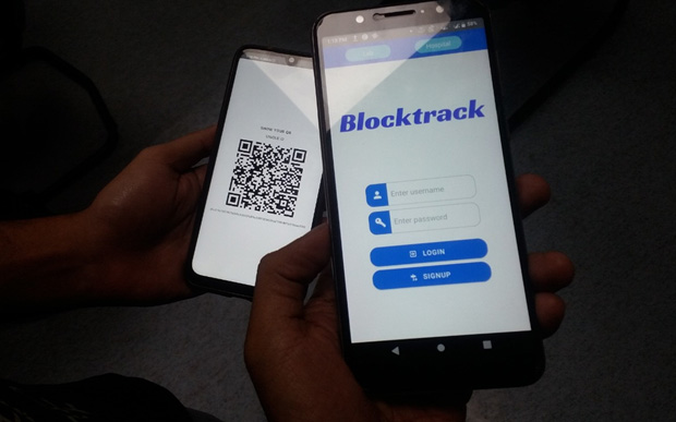 'Block-track' app to protect health related data