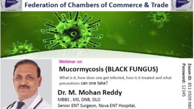 Talk by medical expert on Black Fungus