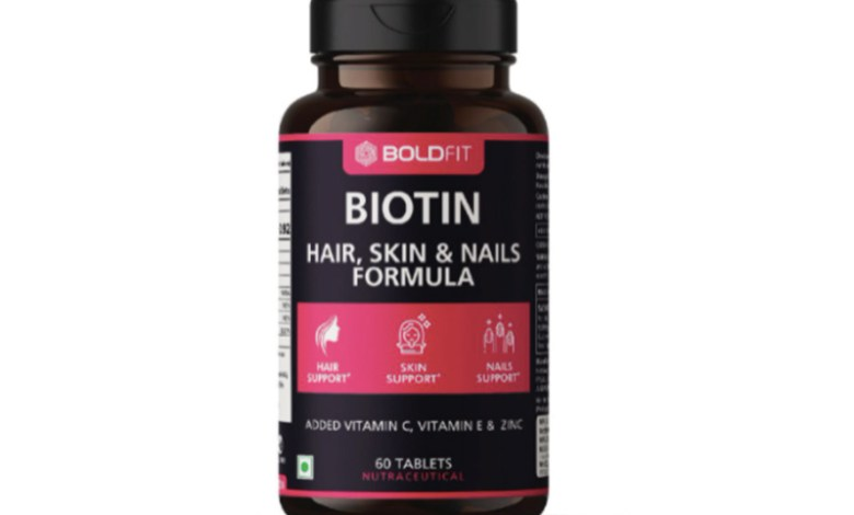 Boldfit Biotin for skin hair nails and more