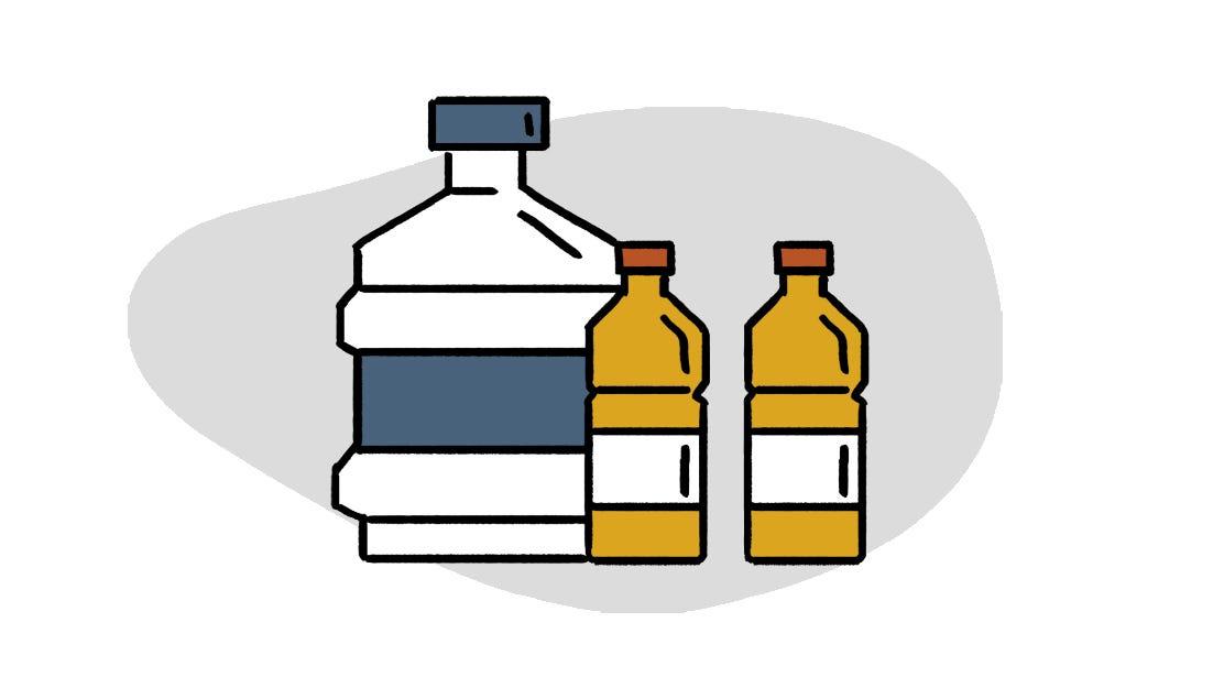 防疫物資清單飲品類