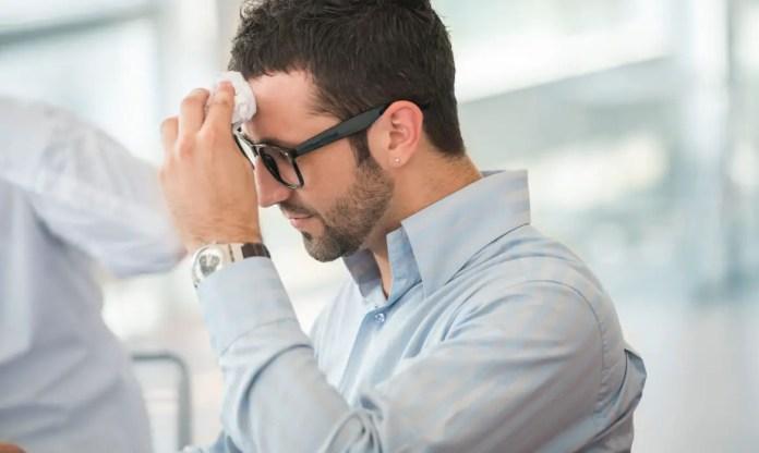 excessive sweating(hyperhidrosis)