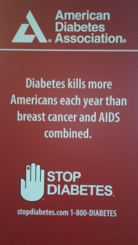 sign from the ADA meeting