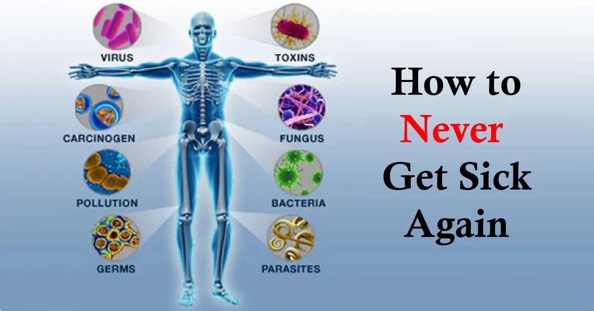 8 Natural Ways To Improve Your Immune System And Never Get