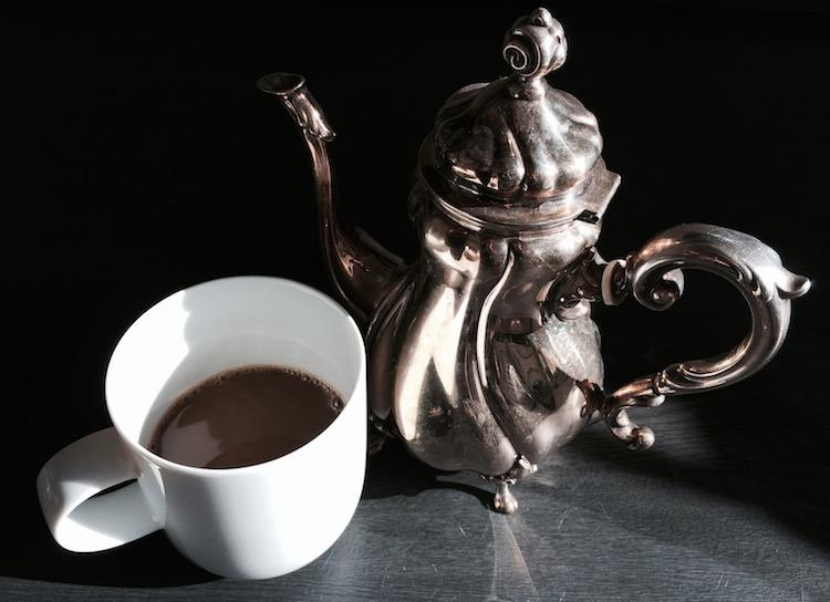 Pause machen Kaffee kochen ist eine gute Gelegenheit