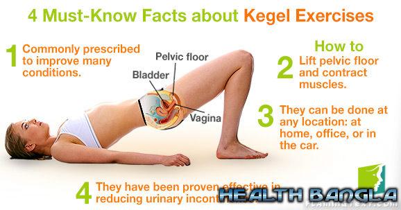 Kegel exercise female
