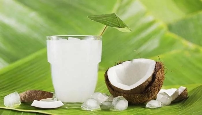 Coconut milk a drink with multiple properties
