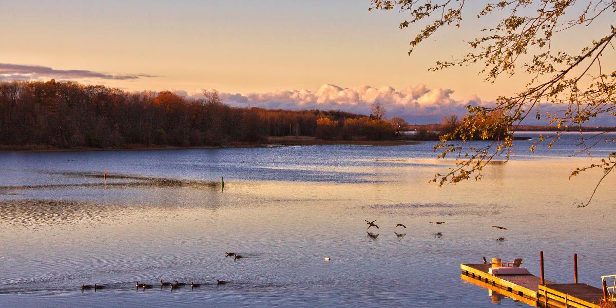 lake Ontario morning light