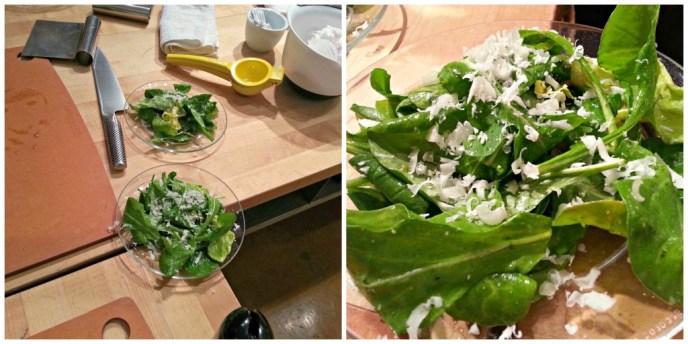 Sur-La-Table-cooking-class salad