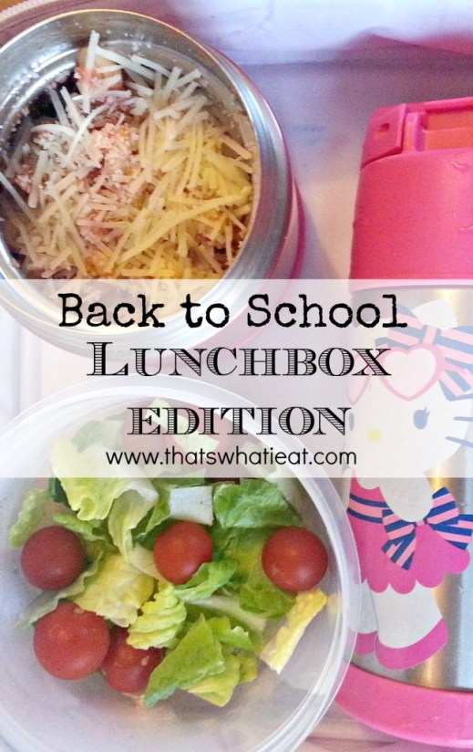 Back to School Lunchbox Edition