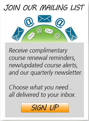 Join Advantedge Education mailing list.