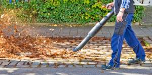 leaf blowing, noise induced hearing loss