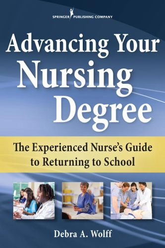 Book cover of Advancing Your Nursing Degree