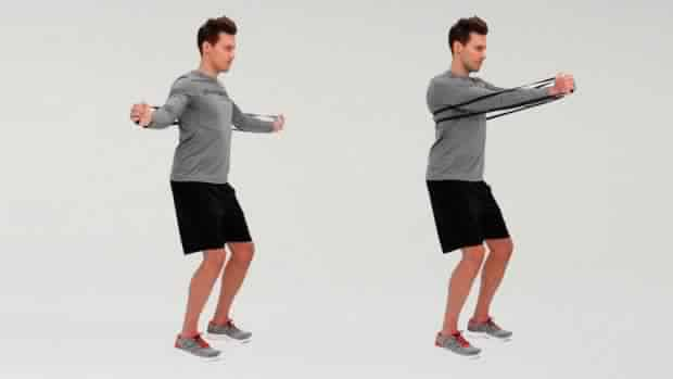 Chest Workout At Home Without Equipment - resistance-band-