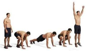 Full Body Workout at home Without Equipment - Burpee