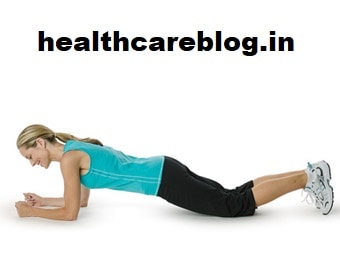 Different Types Of Plank Exercise - Elbow Knee Plank