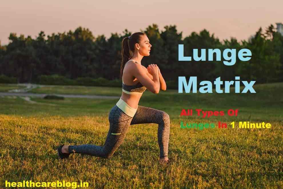 Lunge Matrix Steps