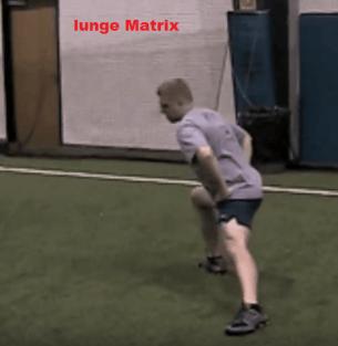 Lunge Matrix (Angular Forward Lunge) - Third Step