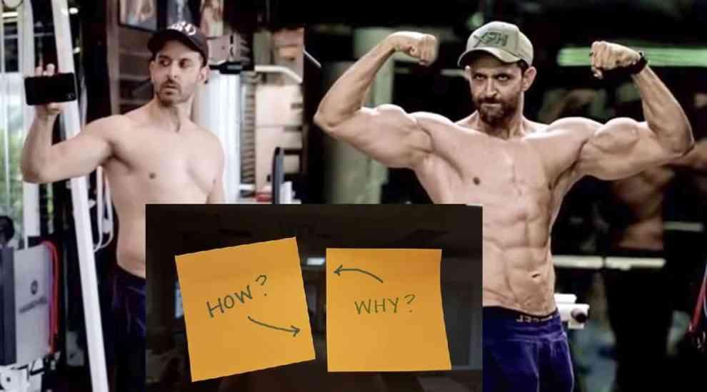 Hrithik Roshan Body Transformation