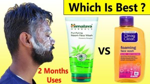 Himalaya Neem Face Wash VS Clean & Clear Face Wash - Healthcare Blog