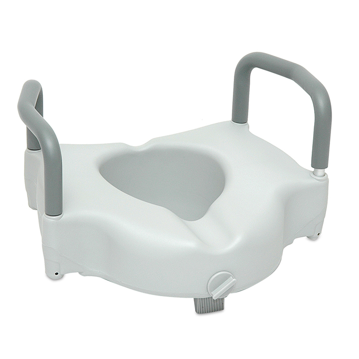 ProBasics Raised Toilet Seat with Lock and Arms | Michigan USA