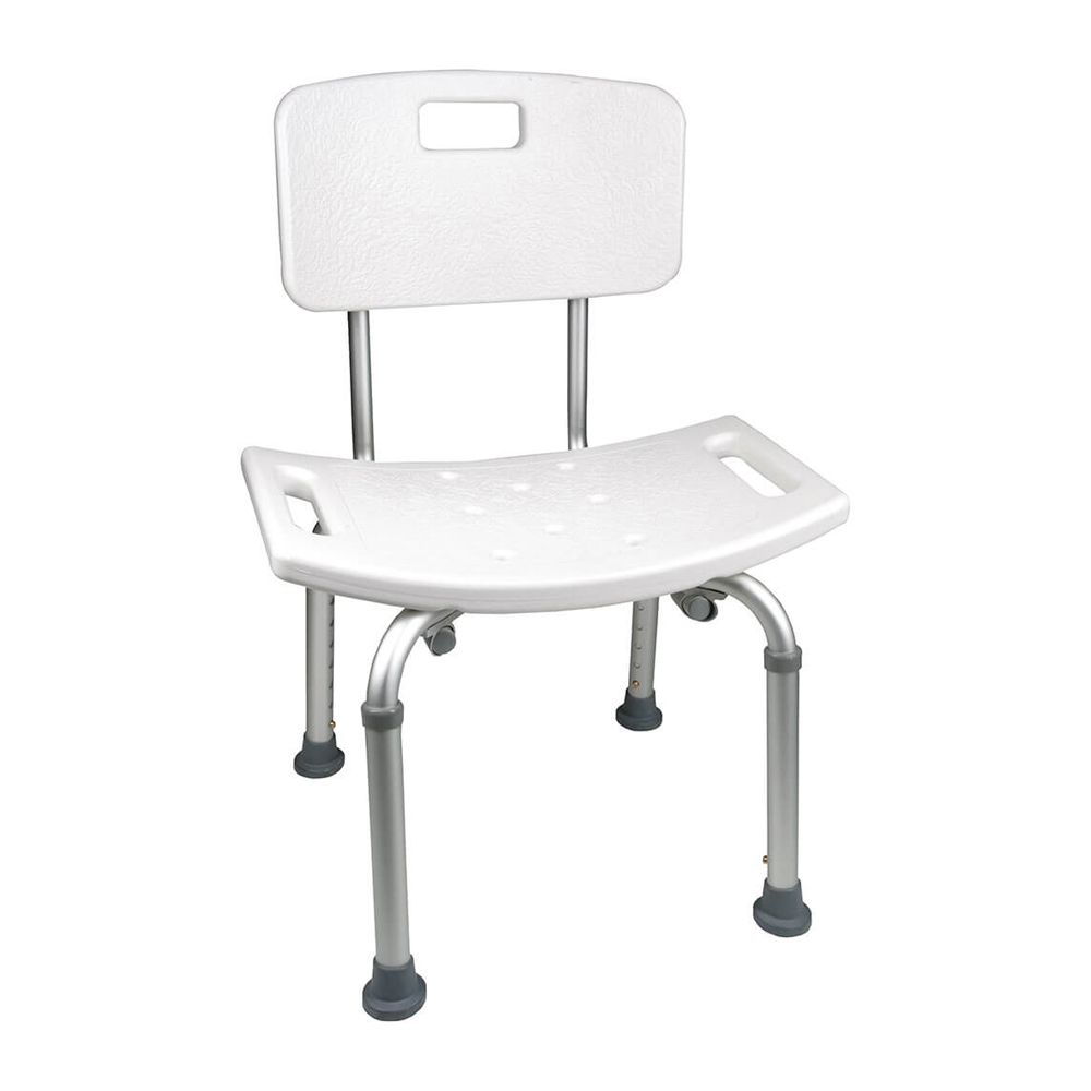 ProBasics Shower Chair with Back   Michigan USA The ProBasics Shower Chair with Back